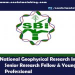National Geophysical Research Institute -naukriwalablog.com