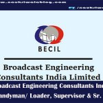 Broadcast Engineering Consultants India Limited (BECIL)-naukriwalablog.com
